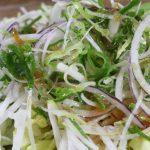 サラダがシナシナになるのを防ぐ方法。食感を戻す方法も!